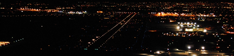 Approaching Runways at ABQ