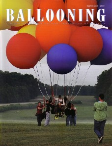 Chairway To Heaven: BALLOONING Magazine