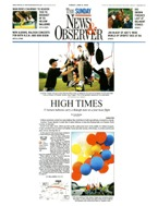 Chairway To Heaven:  The Sunday News and Observer